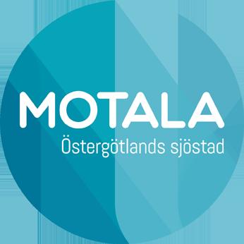 """""""Motala Östergötlands sjöstad logo"""""""
